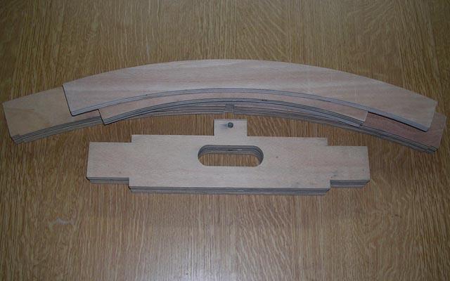 Stavba obloukového modulu 01