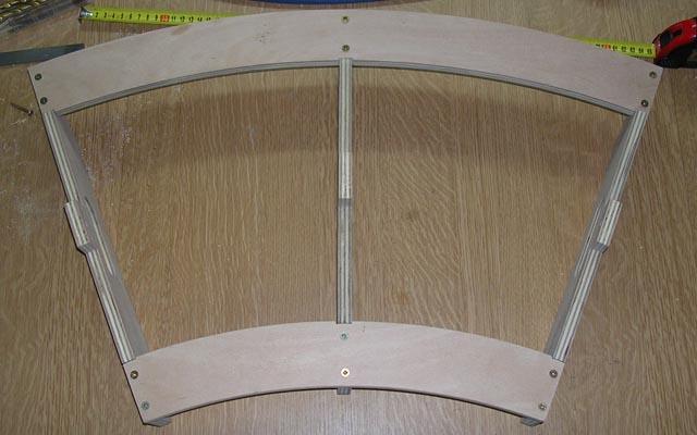 Stavba obloukového modulu 05