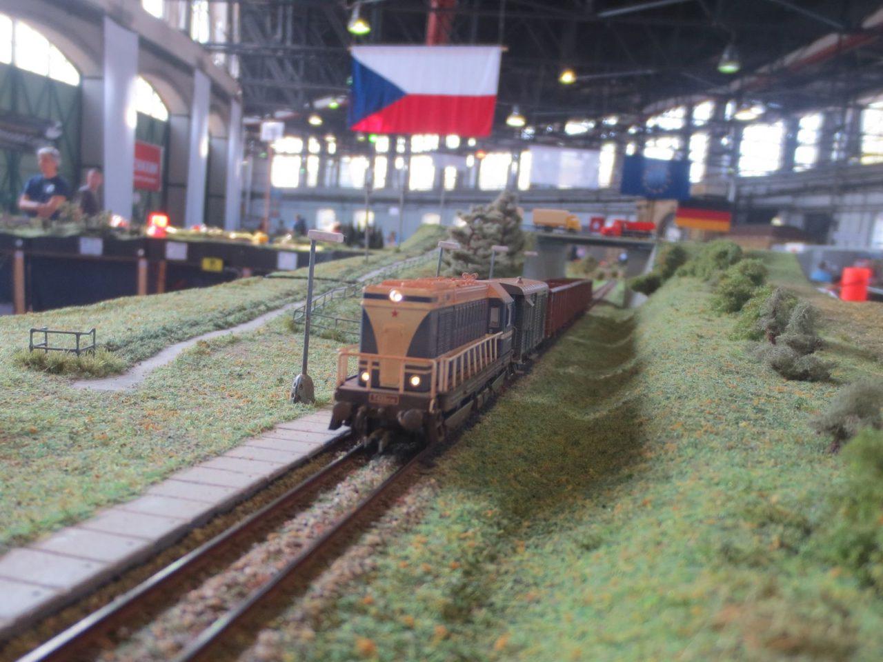 Temofeszt 2014 - jízda vlaku